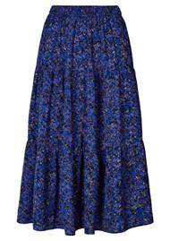 LOLLYS LAUNDRY Morning Midi Skirt - Flower Print