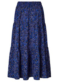 LOLLYS LAUNDRY Morning Midi Skirt - Flower Print