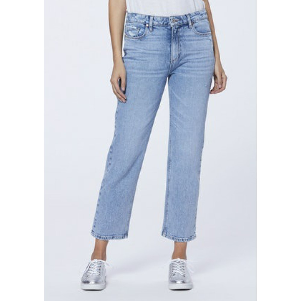 Noella High Rise Relaxed Straight Leg Jeans - Liza