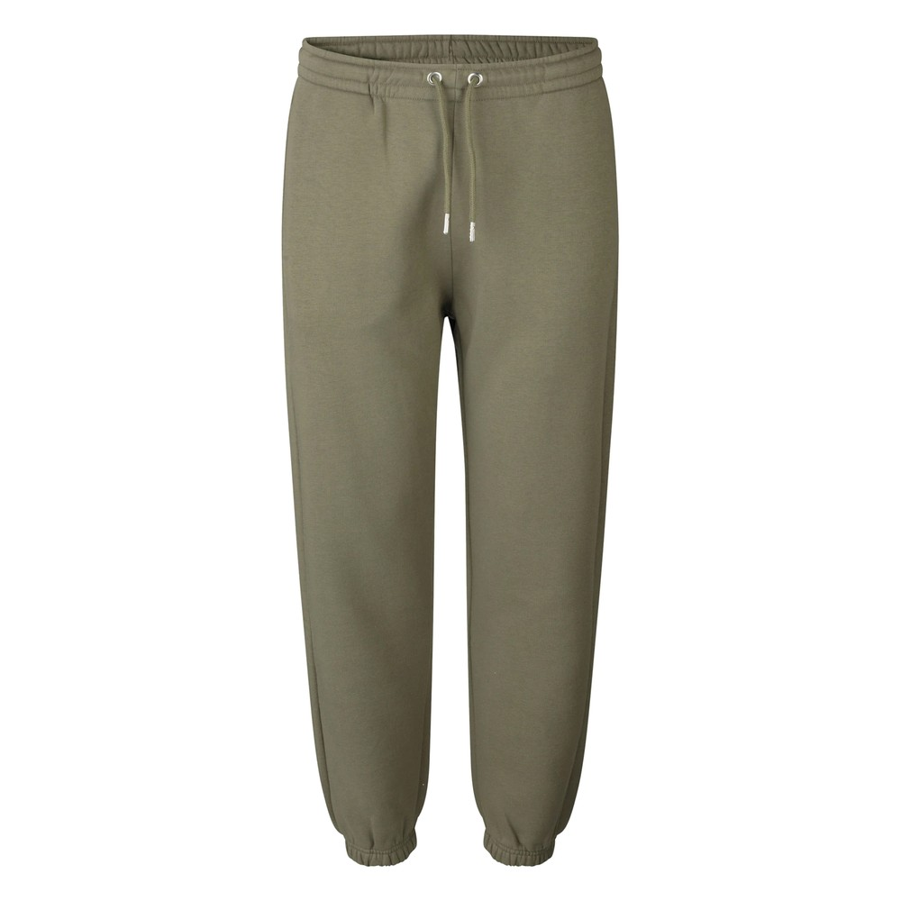 Carmella Cotton Sweatpants - Olive Night