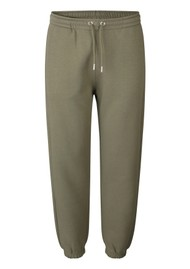 SECOND FEMALE Carmella Cotton Sweatpants - Olive Night