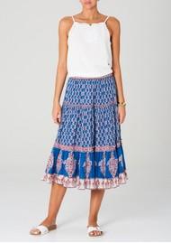 M.A.B.E Madi Midi Printed Skirt - Multi