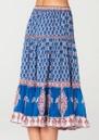 Madi Midi Printed Skirt - Multi additional image