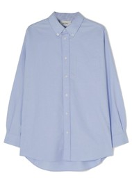 American Vintage Leslie Cotton Shirt - Sky Blue