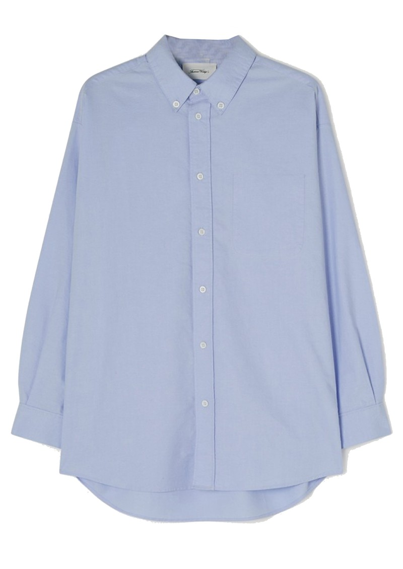 American Vintage Leslie Cotton Shirt - Sky Blue main image