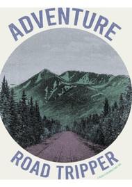 BLACK STAR Adventure Road Organic Cotton Tee - Vintage White