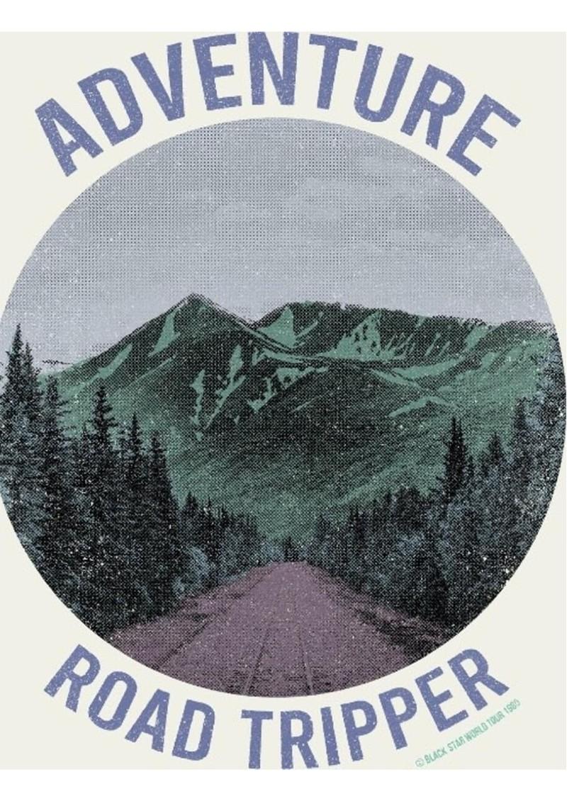 BLACK STAR Adventure Road Organic Cotton Tee - Vintage White main image