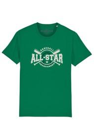 BLACK STAR All Star Organic Cotton Tee - Parakeet