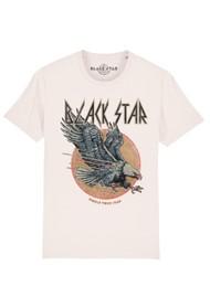 BLACK STAR Eagle Organic Cotton Tee - Vintage White