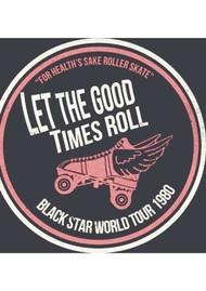 BLACK STAR Good Times Organic Cotton Sweatshirt - Vintage Dark Grey