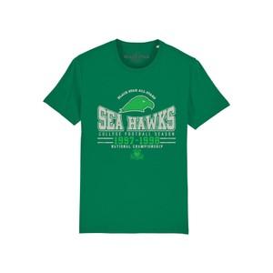 Sea Hawks Organic Cotton Tee - Parakeet