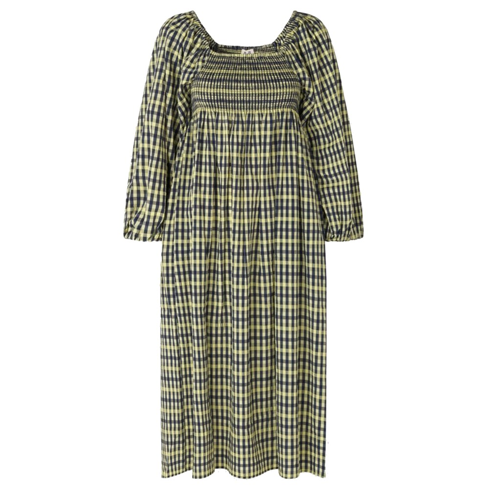 Aquina Dress - Limelight Check