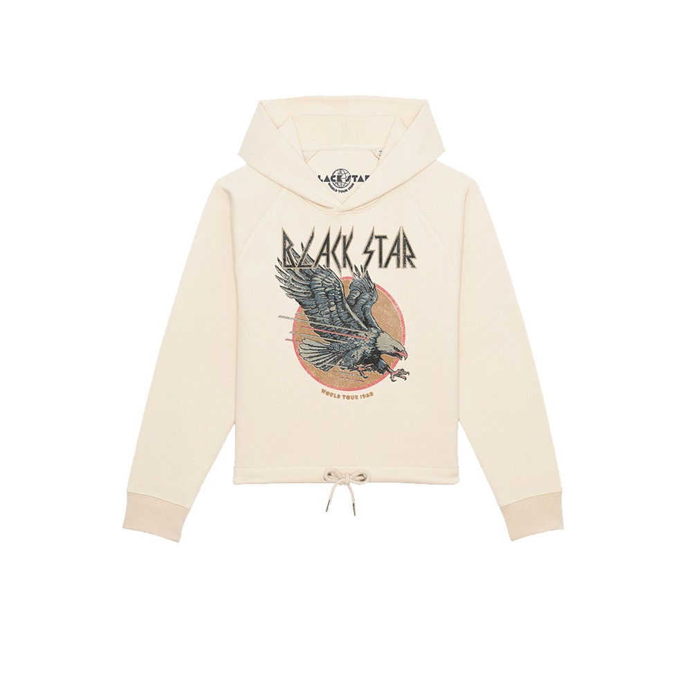 Eagle Organic Cotton Hoodie - Natural