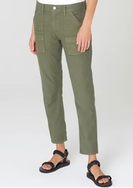 CITIZENS OF HUMANITY Leah Crop Cargo Trouser - Fatigue