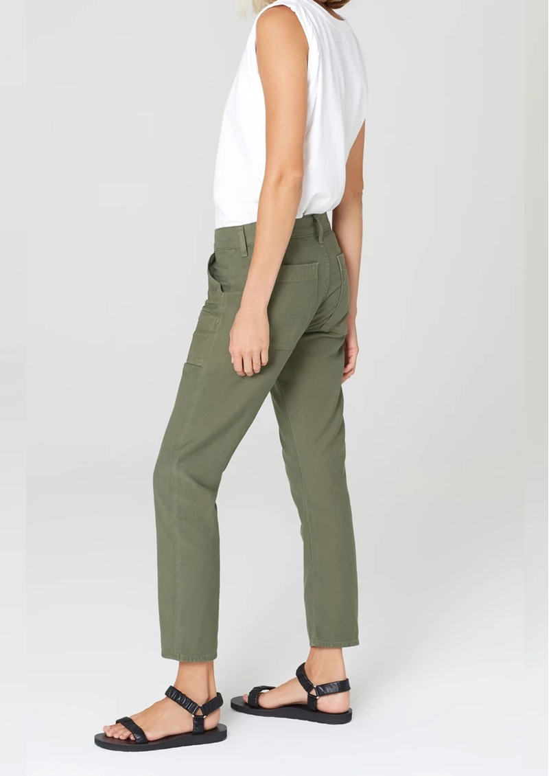 CITIZENS OF HUMANITY Leah Crop Cargo Trouser - Fatigue main image