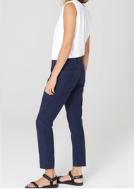 CITIZENS OF HUMANITY Leah Crop Cargo Trouser - Washed Navy