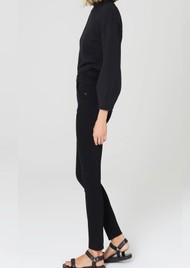 CITIZENS OF HUMANITY Chrissy High Rise Skinny Jeans - Plush Black