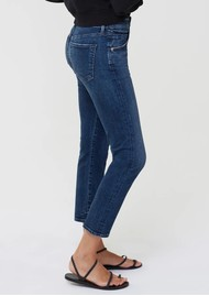 CITIZENS OF HUMANITY Elsa Mid Rise Slim Fit Crop Jeans - Night Tide