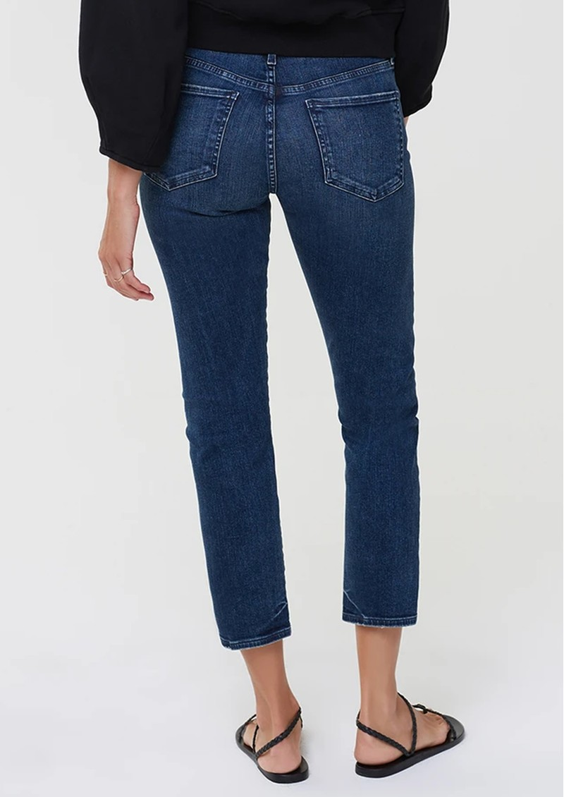 CITIZENS OF HUMANITY Elsa Mid Rise Slim Fit Crop Jeans - Night Tide main image