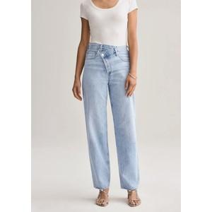 Criss Cross Upsized Organic Cotton Jeans - Suburbia