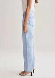 AGOLDE Criss Cross Upsized Organic Cotton Jeans - Suburbia