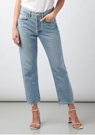 AGOLDE Parker High Rise Straight Leg Jean - Swapmeet