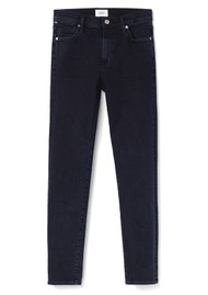 CITIZENS OF HUMANITY Rocket High Rise Skinny Crop Jeans - Ultra Marine