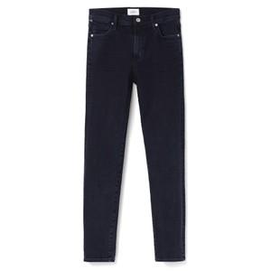 Rocket High Rise Skinny Crop Jeans - Ultra Marine