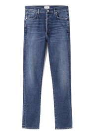 CITIZENS OF HUMANITY Olivia High Rise Slim Fit Jeans - Rosetta