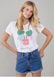 SOUTH PARADE Lola Plant Based Pima Cotton T-Shirt - White