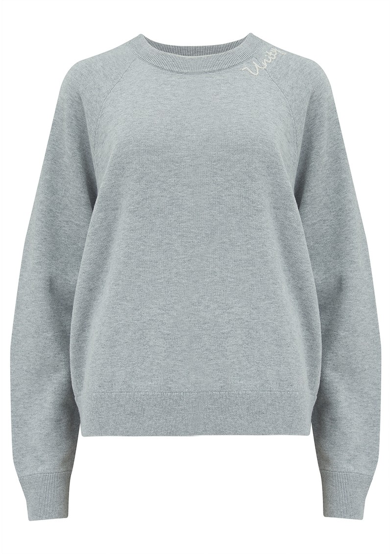 360 SWEATER Unity Sweater - Mist & Chalk main image