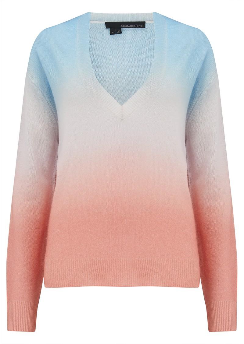 360 SWEATER Kora Cashmere Sweater - Alabaster main image