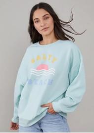 SOUTH PARADE Alexa Salty Beach Cotton Sweater - Blue