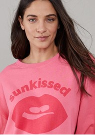 SOUTH PARADE Alexa Sunkissed Cotton Sweater - Pink
