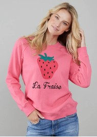 SOUTH PARADE Rocky La Fraise Sweatshirt - Pink
