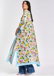 ESSENTIEL ANTWERP Zanzai Printed Kimono - Ballerina
