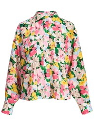 ESSENTIEL ANTWERP Zunco Printed Shirt - Ballerina