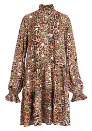 ESSENTIEL ANTWERP Zex Printed A Line Dress - Tacos
