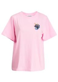 ESSENTIEL ANTWERP Ziland Organic Cotton T-Shirt - Fairytale