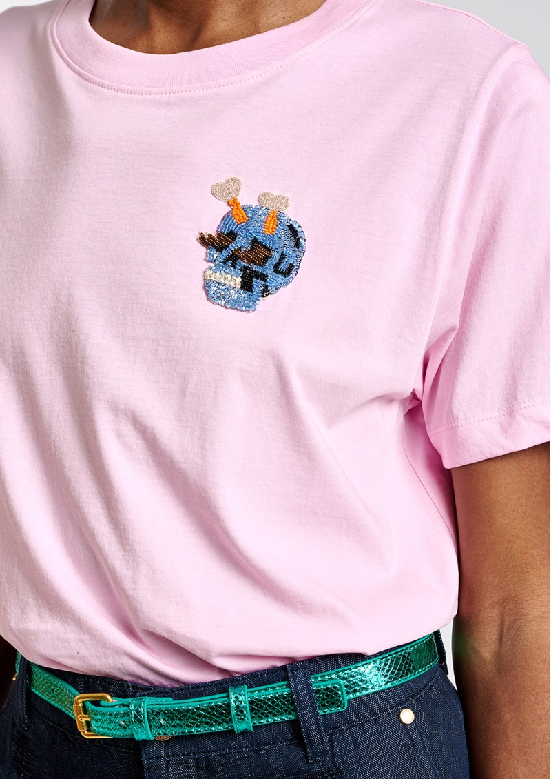 ESSENTIEL ANTWERP Ziland Organic Cotton T-Shirt - Fairytale main image