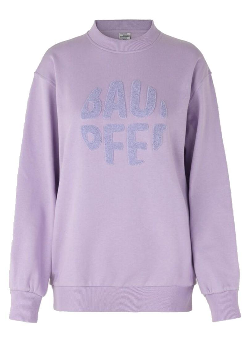 BAUM UND PFERDGARTEN Jimi Organic Cotton Sweater - Lavendula main image