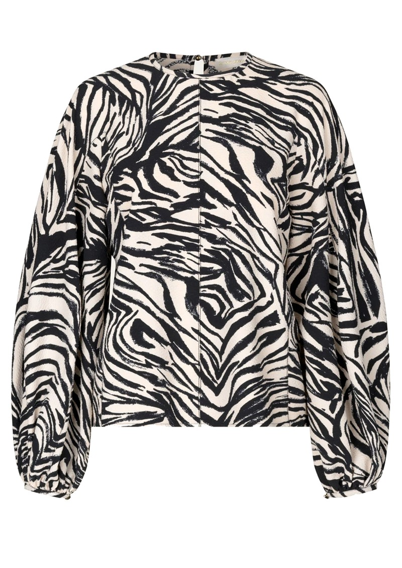STINE GOYA Dianne Top - Zebra Black main image