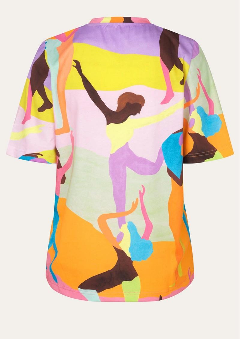 STINE GOYA Leonie Organic Cotton T-Shirt - Dance  main image