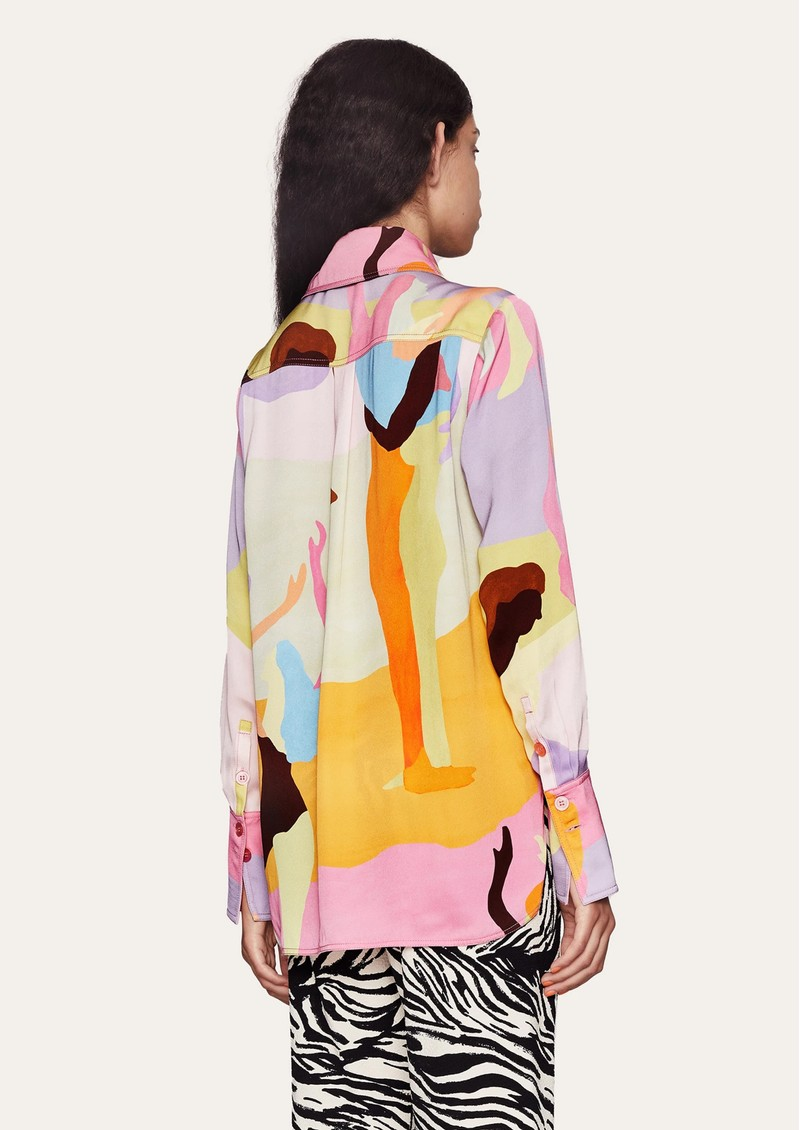 STINE GOYA James Printed Shirt - Dance main image