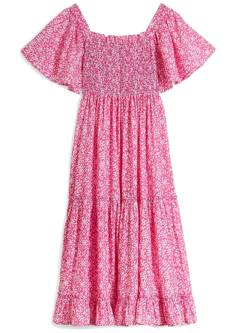 PINK CITY PRINTS Lolita Organic Cotton Dress - Rose Retro main image