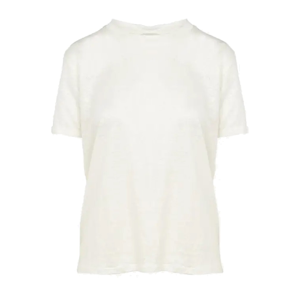 Eros Linen T-Shirt - Off White