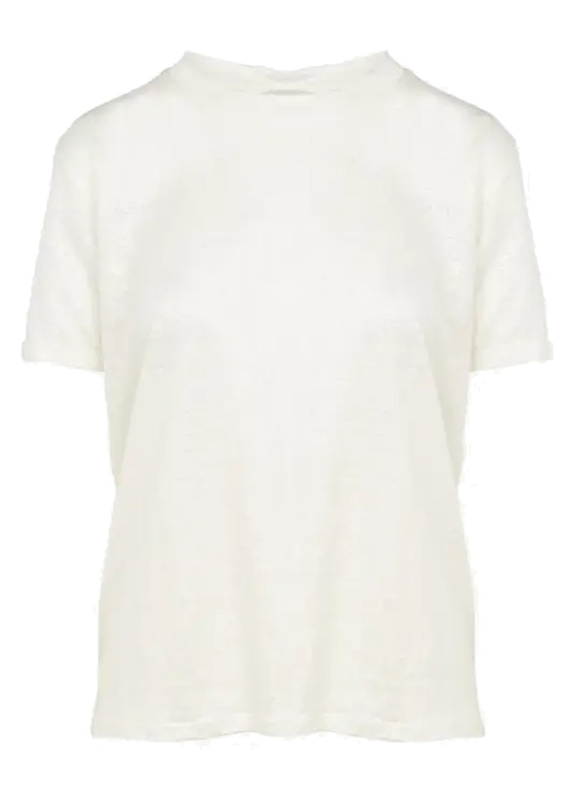 Eros Linen T-Shirt - Off White main image