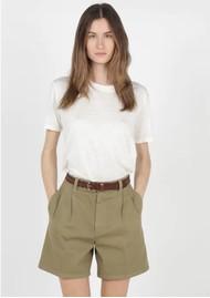 BERENICE Eros Linen T-Shirt - Off White