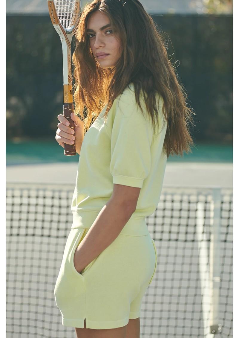 Rails Jane Cotton Shorts - Limon main image