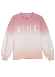 Rails Rails Signature Sweatshirt - Pink Peach